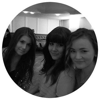 Fav gurrrlsss @mariannnan +++ @milju <3 #blogawards #party #helsinki