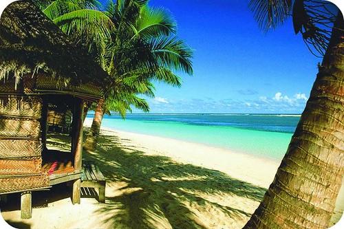 Samoa beach hut