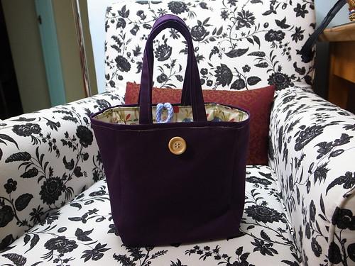 氣質紫色便當袋(帆布包免返口) @ 被貓撿到的幸福 ...