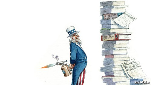 Economist over-regulation