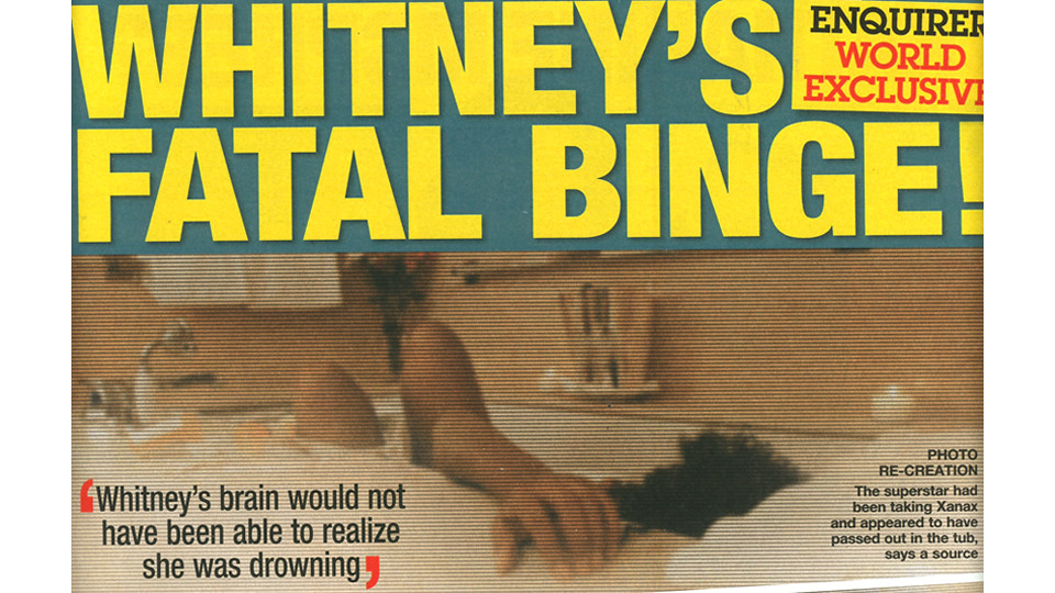 whitney-national-enquirer death