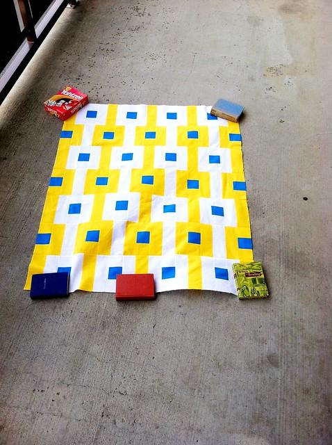 Sunny quilt!