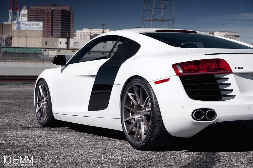 iForged Audi R8 V8