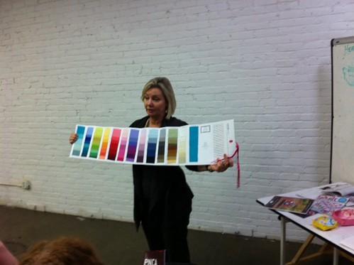 Kathy Miller at the PMQG!