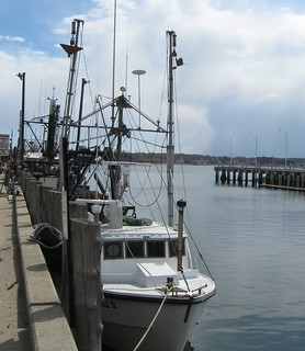 Trawler at Portland Fish Pier