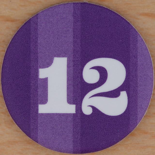 12 Purple Number