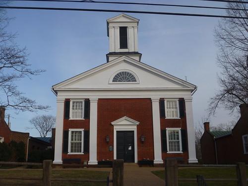 virginia washington entrance courthouse rappahannockcounty