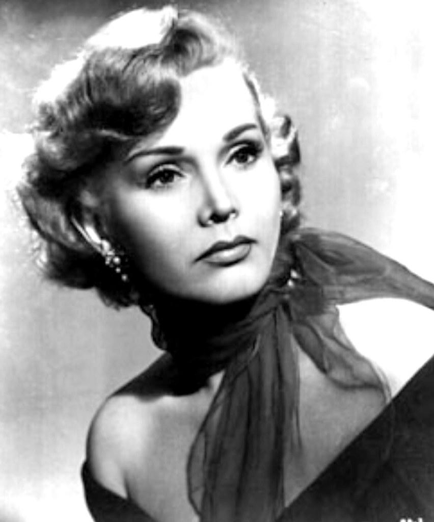 Zsa Zsa Gabor, Hungarian born actress in Hollywood 1950s