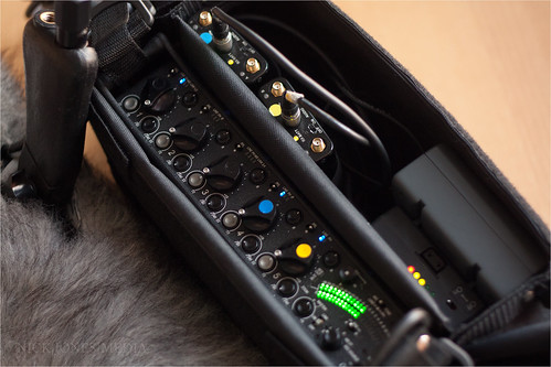 Sound Devices 552 and GlobalMediaPro Li95S 3