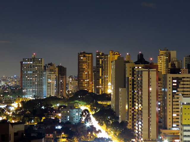 Curitiba by night