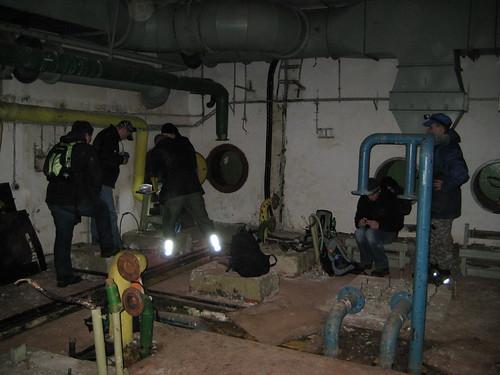Im Bunker auf der Suche nach dem Final