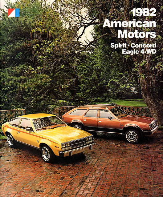 1982 American Motors Corporation (AMC) brochure cover