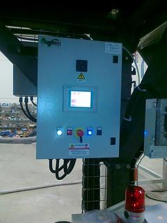 quadro elettrico dosaggio gravimetrico stand-alone