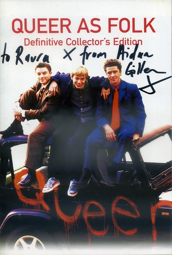 """Autographed """"Queer As Folk"""" booklet"""