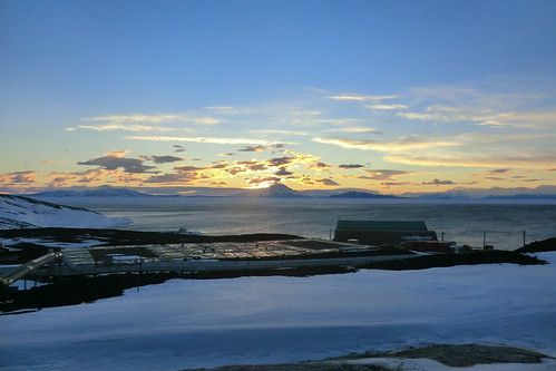 McMurdo Station Antarctica Sunset