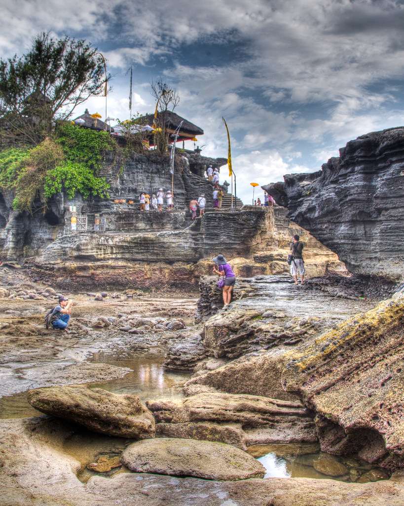 Stylized Tanah Lot