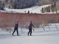 Dan and Phil Skiing