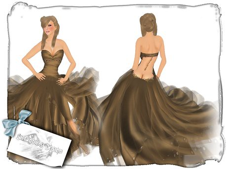 ~*~Sharodie's~*~Test Gown, 2 lindens by Cherokeeh Asteria
