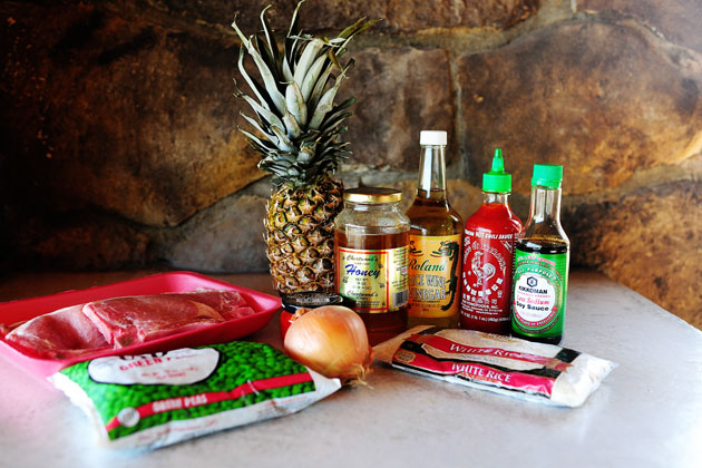 Pork Chops with Pineapple Fried Rice | The Pioneer Woman Cooks | Ree ...