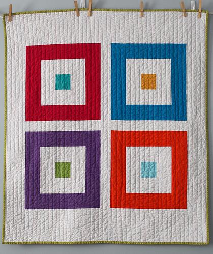Four Squared quilt