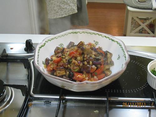 西西里茄子溫沙拉