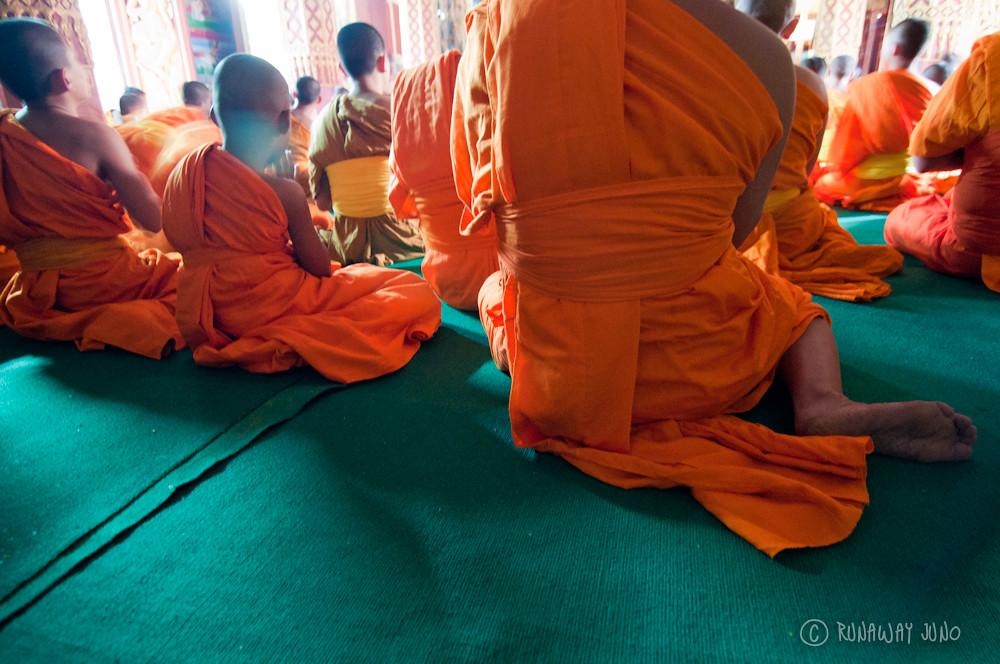 Monk Orage robe