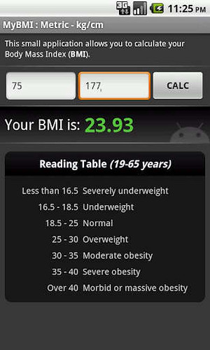 5. BMI Calculator