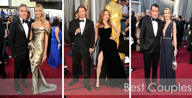 Oscars 2012 - best couples