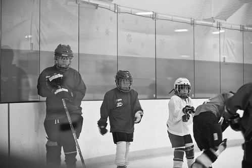 Joshua hockey scrimmage2
