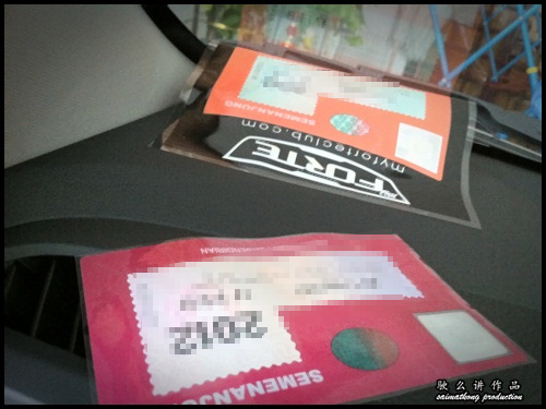 Road Tax Holder