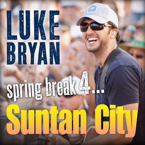 Luke Bryan Suntan Cover
