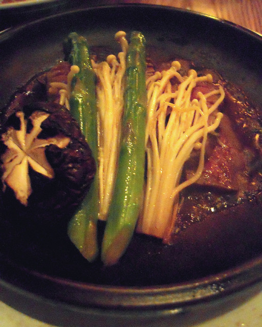 Course Five - Wagyu Beef Toban Yaki