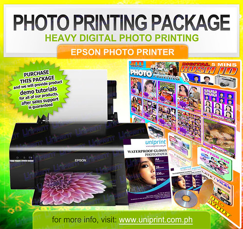 Photo Printing Package
