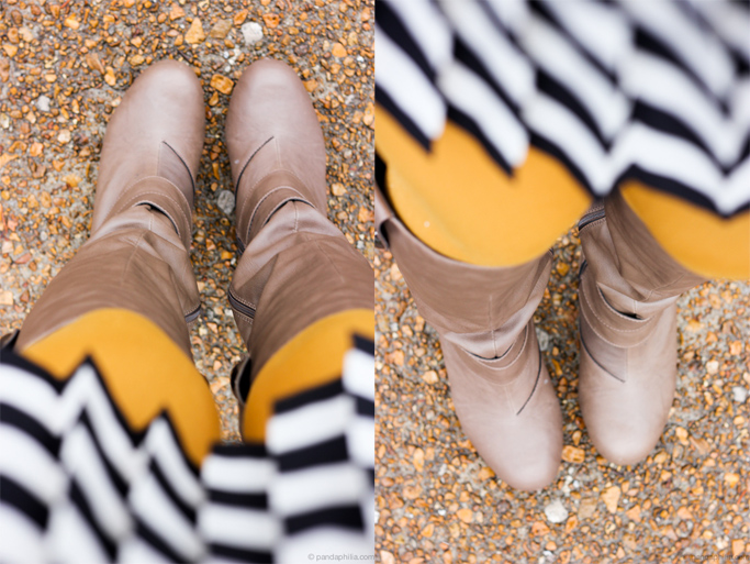 mirror image boots n stripes