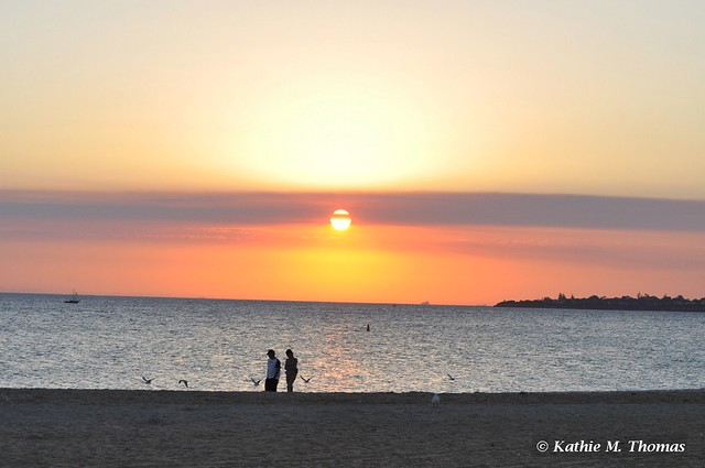 Sunset at Mordialloc