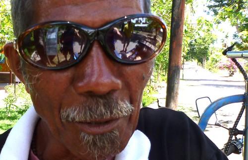 portrait people man reflection sunglasses easttimor atauroisland timorleste