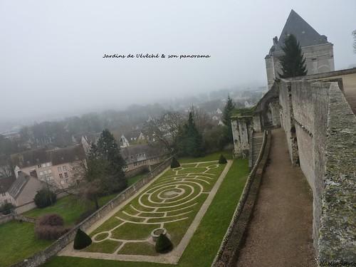 Chartres Jardins de l'évêché