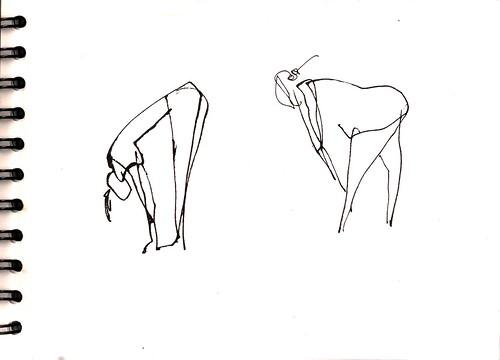 tratando de dibujar el baile en Madrid