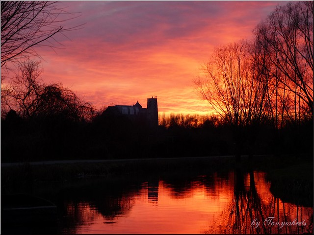 Sunset & Marshes - Bourges