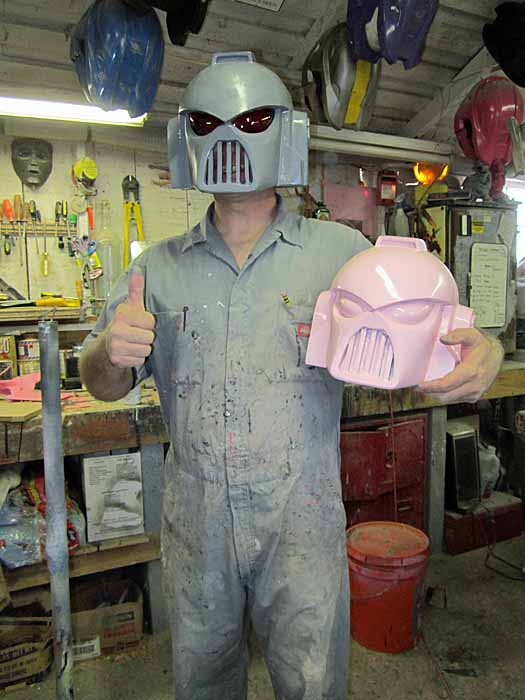 SM First Helmet Cast