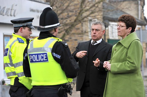 David Ward, Jeanette Sunderland and police