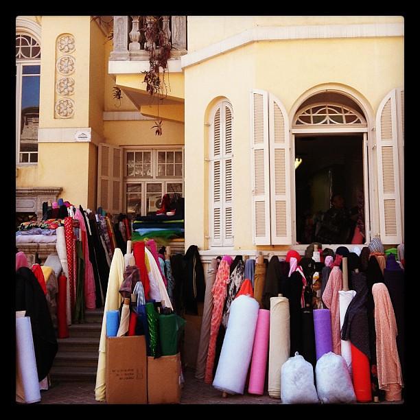 Fabric store, Tel Aviv