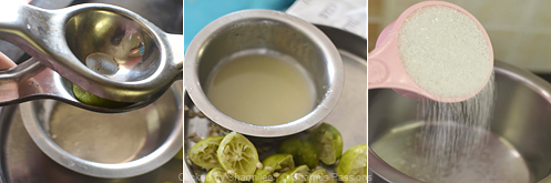 Lemonade Recipe - Step1