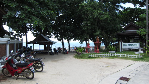 Koh Samui Chaweng Beach →Chaweng Noi Beach サムイ島チャウエンビーチからチャウエンノイビーチへ岩越え (1)