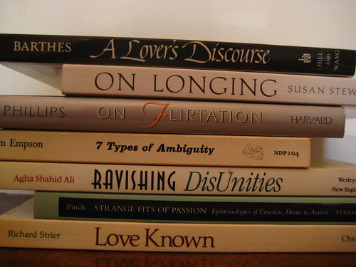 What we talk about when we talk about love (book spine poems, #5)
