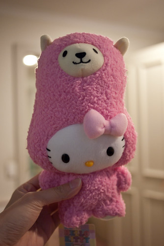 Alpaca Hello Kitty!