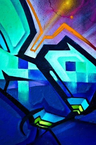 Machine RTD Close-up Detail | Houston Graffiti | 2012