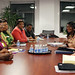 UN Women Executive Director Michelle Bachelet meets with Dr. Olivia N Muchena, Minister of Women Affairs, Gender and Community Development of the Republic of Zimbabwe