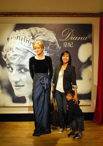 Princess Diana Wax