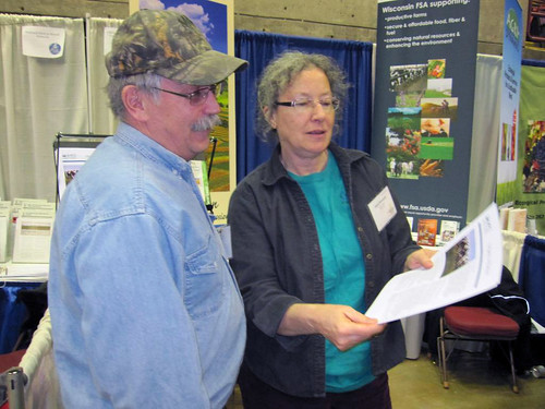 Jean Stramel, Grazing Lands Specialist in Richland Center, discusses what assistance is available from NRCS for interested graziers.